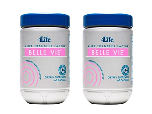 4Life Transfer Facto Belle Vie for Female Reproductive Health 60 Capsules each (pack of 2) by 4Life Research by 4life
