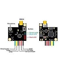 AKK Oscar's Mochila VTX 0,01mW 25mW 200mW con configuración OSD Soporte de audio inteligente para FPV Drone