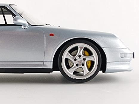 GT Spirit - zm062 - Porsche 911/993 Turbo S - Escala 1/18 - Plata: Amazon.es: Juguetes y juegos