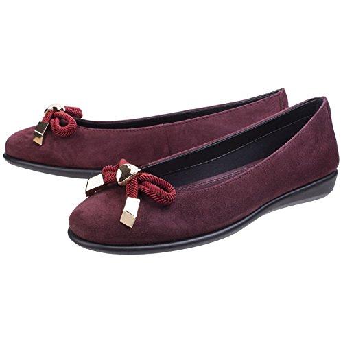 Il Flexx Riskas Scarpe Di Cuoio Delle Donne Basse Ballerine Scarpe Pantofola Scarpe Da Donna Marina