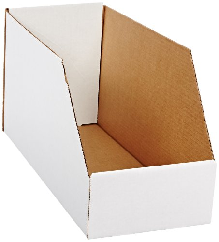 Corrugated Shelf Bins - Aviditi BINJ81810 Jumbo Open Top Bin Box, 18
