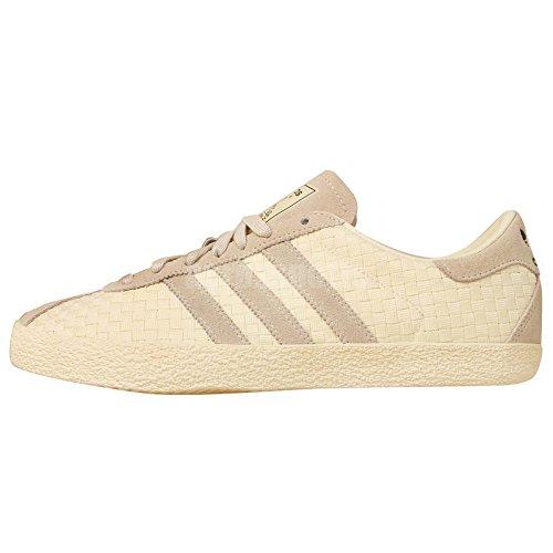 Adidas Gazelle 70s cwhite/cwhite/cblack, Größe Adidas:4.5