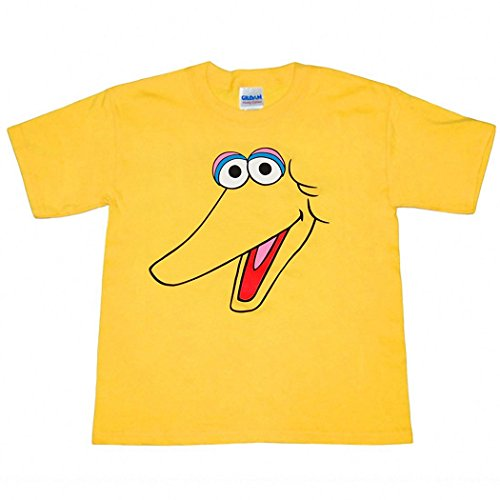 - Sesame Street Big Bird Face Infant T-Shirt-24 Months