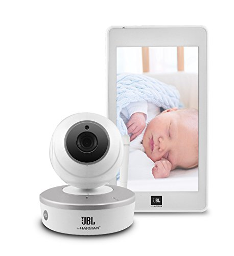 JBL Harman HD Camera with Infrared Night Vision and 5-Inch HD Android Touch Screen Tablet Baby Monitor