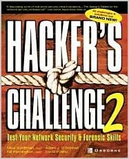 Book Hacker's Challenge 2 2nd (second) edition Text Only