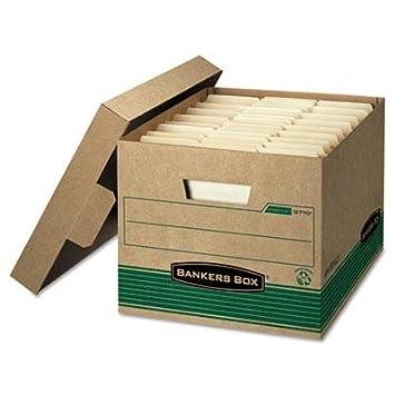Caja de Banqueros – STOR/File Extra Fuerza Caja de almacenaje, carta/Legal