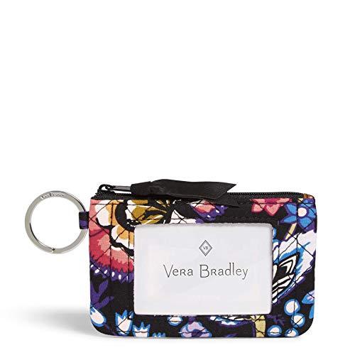 Vera Bradley Women's Signature Cotton Zip ID Case Wallet 1