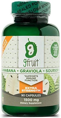 #1 in Potency | Pure Graviola Capsules | 1500MG PER CAPSULE! 90 Capsules EXTRA STRENGTH |