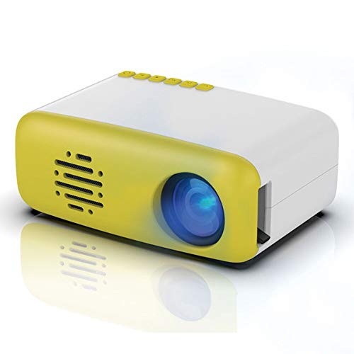 ZXGHS Home Cinema Projector, Mini HDMI HD LCD Projector Home Theater Player for Private Theater Party