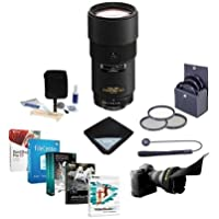 Nikon 180mm f/2.8D ED-IF AF NIKKOR Lens - USA. Warranty - Bundle w/72mm Filters & Pro Software