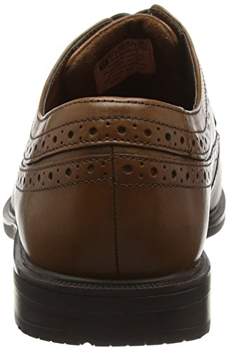 Rockport Essential Detail II Wingtip, Scarpe Stringate Uomo Marrone (Tan Antique Leather)