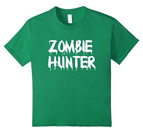 Kids Zombie Hunter Halloween 2017 T-Shirt 6 Kelly
