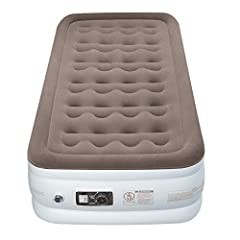 The new standard for airbeds Create cozy accommodations for your overnight guests with the Edacity twin Airbed. Crafted with durable, lightweight materials, the airbed comfortably supports your body while maintaining its firmness and shape. I...