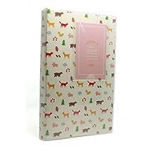 Clover Lovable Mini Album Fuji Instax Mini photo Album For Instax Mini7s 8 25 50s 90 Film, (84 photos)---White