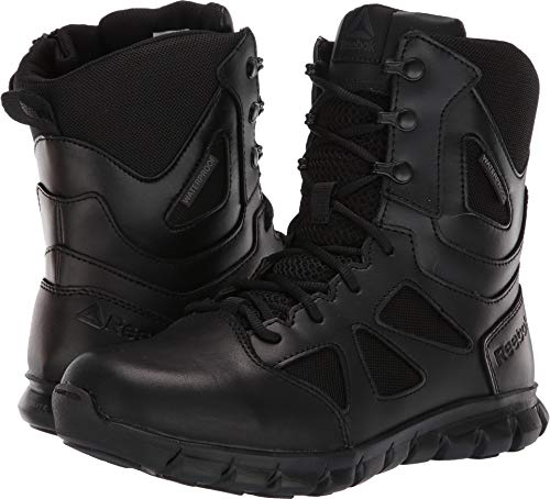 Reebok Women's Sublite Cushion Tactical RB806 Military & Tactical Boot Black 9.5 M US