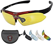 Sunglasses for Men Women Night Driving Glasses Polarized Shooting Cycling