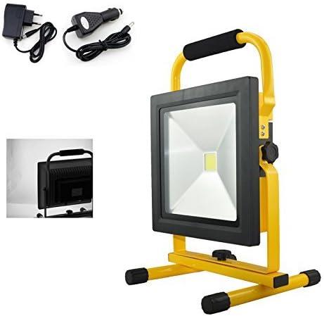 VINGO/® 20W LED Projecteur IP65 Noir Luminaire de travail Construction Torche Torche /électrique Blanc chaud Classe /énerg/étique A ++