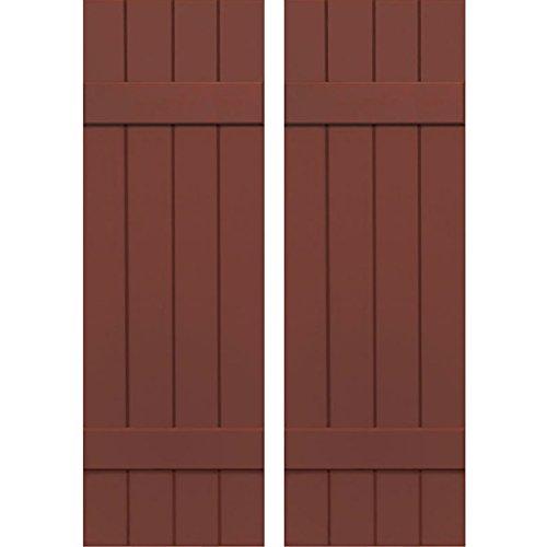 Ekena Millwork CWB15X078RWC Exterior Four Board