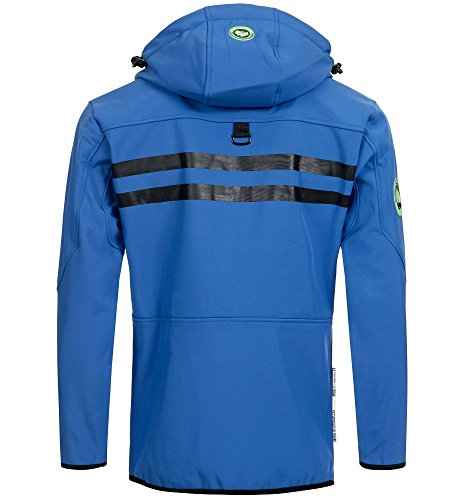 Giacca Giubbotto Uomo Geographical Norway Jacket Men Rainman Men -Blu-S