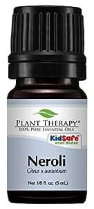 Plant Therapy Neroli Essential Oil. 100% Pure, Undiluted, Therapeutic Grade. 5 mL (1/6 Ounce).