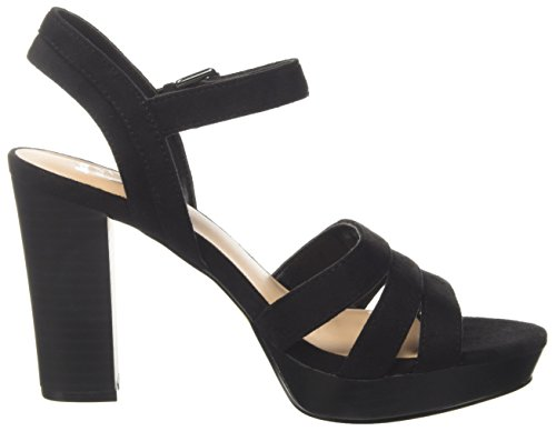 BATA Women's 769700 Ankle Strap Sandals Black (Nero 6) ZqYnN4t5IS