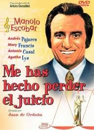 ME HAS HECHO PERDER EL JUICIO: Amazon.es: MANOLO ESCOBAR, JUAN DE ORDUÑA: Cine y Series TV