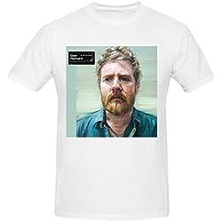 Glen Hansard Rhythm And Repose Graphic T Shirts For Men Crew Neck White