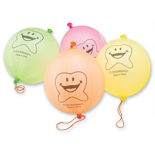 Happy Tooth Punching Balloons - 48 per pack - Happy Tooth