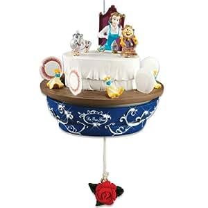 Amazon.com: Disney Beauty And The Beast Christmas Ornament ...