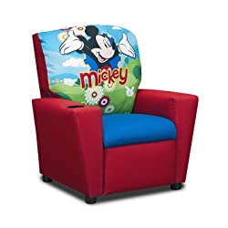Disney's Mickey Mouse Clubhouse Kids Recliner