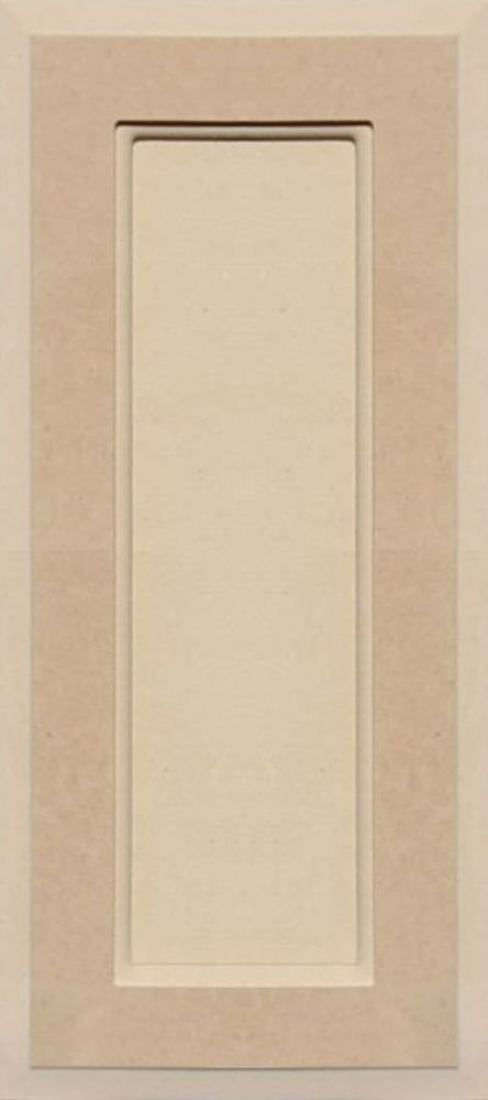 Unfinished MDF Square Flat Panel Cabinet Door by Kendor, 18H x 8W Kendor Wood Inc.