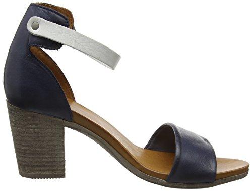 Moda in Pelle Damen loella Sandalen blau (marineblau)