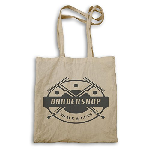 Barber Shop Shave And Cuts Funny Tote bag g520r