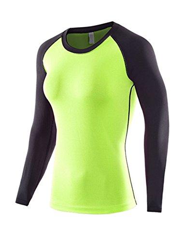 花火幸運大工SANKE 長袖 スポーツインナー スポーツ シャツ UVカット 吸汗速乾 アンダーウェア ジョギング トレーニング コンプレッションウェア レディース 3色 4サイズ 女性用