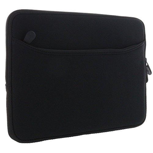 XiRRiX Tablet PC Tasche - Neopren Schutzhülle mit zusätzlichem Fach Grösse: bis 25,65 cm (10,1 Zoll) für max. Abmessungen von 270 x 195 mm