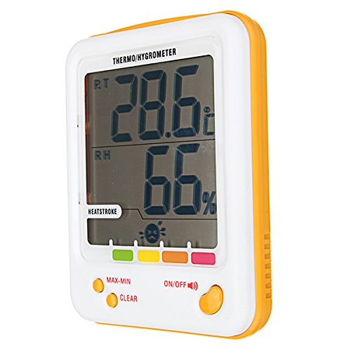 Amazon.com: INNI S-WS18 Hygrometer Thermometer Indoor ...