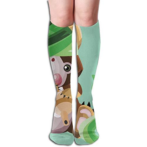 Socks Koala As A Snake Charmer Vintage Womens Stocking Holiday Sock Clearance For Girls ()