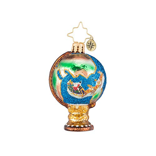 Christopher Radko Travel in Santa Style Gem! Christmas ()