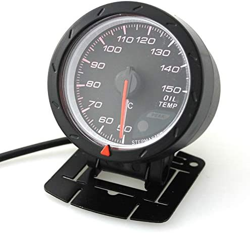 Zylindermotoren 50 bis 150 Celsius Mit Sensor Sensor 60mm 12V Auto LED /Öltemperaturanzeige Fahrzeuganzeige 4-6-8