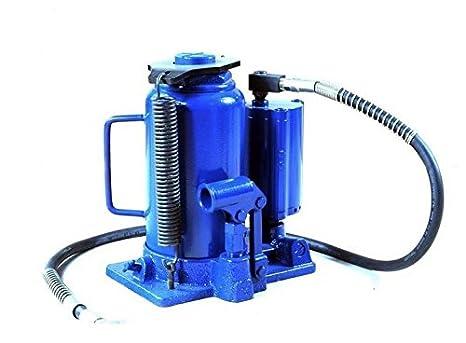 Martinetto Idraulico Ad Aria.Crick A Bottiglia 20 Ton Con Sollevamento Pneumatico Ad
