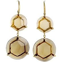 Ippolita Gemma 18K Yellow Gold Cognac Citrine Dangle Earrings