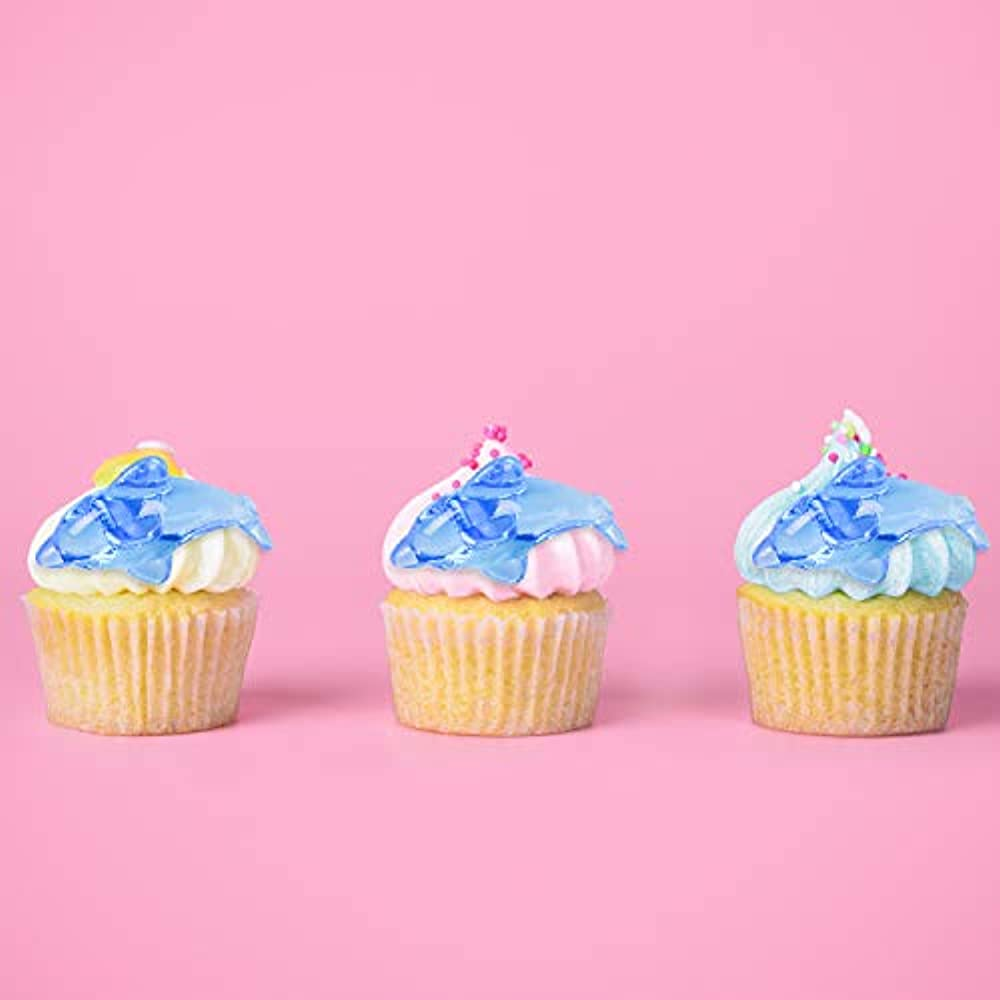 Nautical 12 Dolphin Cupcake Toppers Dolphin cake picks Under The Sea Party