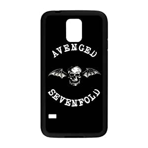 Fashion Hardshell Snap-on Back Cover Case for Samsung Galaxy S5 - A7X Avenged Sevenfold