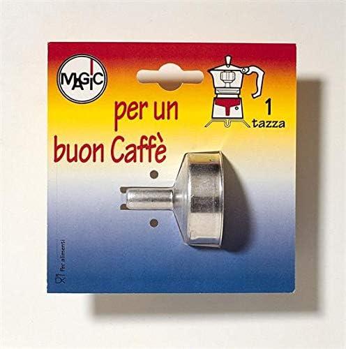 DEMOLLI Embudo Repuesto para cafetera 1 Taza: Amazon.es: Hogar