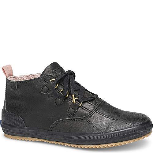 Keds Scout Chukka Leather Women 7 Black