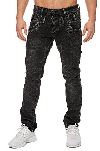 TAZZIO Slim Fit Herren Stretch Jeans Hose Denim 16535