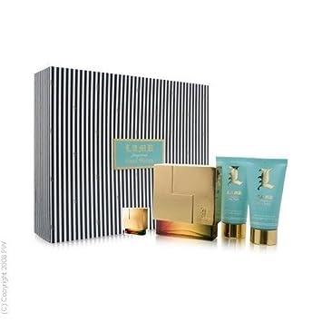 L L.A.M.B. by Gwen Stefani 3.4 oz eau de parfum Spray 2.5 oz Body Lotion 2.5 oz Shower gel mini