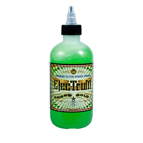 ELECTRUM TATTOO STENCIL PRIMER 8oz Thermal Stuff Transfer Solution Bottle ink