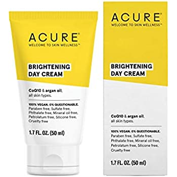 ACURE Brightening Day Cream, 1.7 Fl. Oz. (Packaging May Vary)