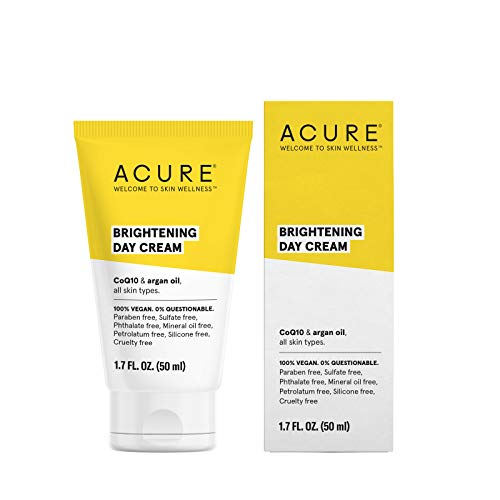ACURE Brightening Day Cream, 1.7 Fl. Oz. (Packaging May - Cream Daily Cleansing